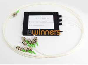 BWINNERS BWN-PLC-CT-1X8-FC Cassette Type 1X8-FC PLC Splitter, with FC/APC Connector
