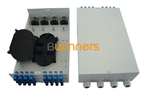 SJ-ODB-M10 24 Cores Wall Mounted FTTH Terminal Box​ Fiber Optic Cable Terminal Box