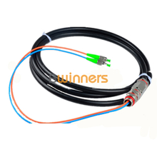 BWINNERS Outdoor 2 Core Single-mode FC/APC Waterproof Optical Cable Pigtail / Patchcord Jumper Cable Pigtail