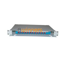 BWINNERS SJ-ODF-12 12 Port Rack Mount Fiber Optic Patch Panel Unit Box 19 Inch Fiber Optic ODF