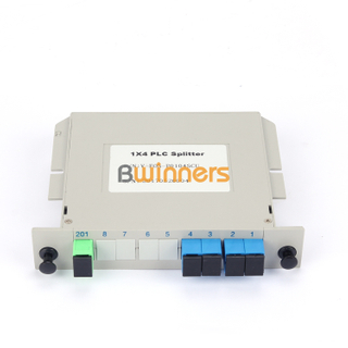BWINNERS BWN-PLC-IM-1X4 Insertion Module 1x4 PLC Splitter, with SC/APC Connector
