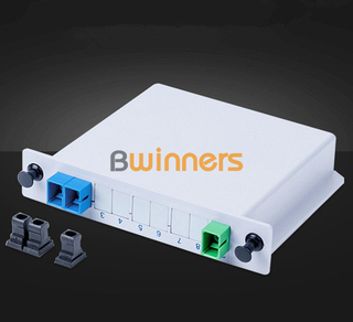 BWINNERS BWN-PLC-IM-1X2 Insertion Module 1x2 PLC Splitter, with SC/APC Connector