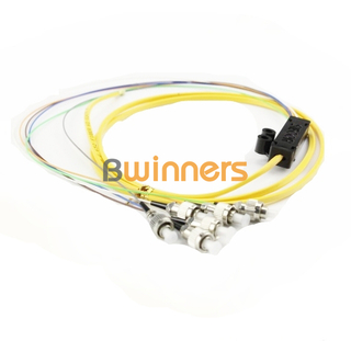 BWINNERS 4 Core SM FC/UPC Ribbon Optic Cable Pigtail/ Patchcord Jumper Cable Pigtail