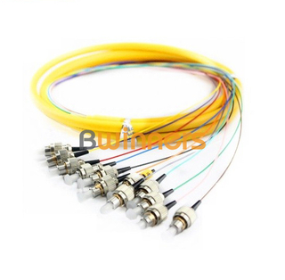 BWINNERS 12 Core SM FC/UPC Ribbon Optic Cable Pigtail/ Patchcord Jumper Cable Pigtail
