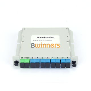 BWINNERS BWN-PLC-IM-2X8 Insertion Module 2x8 PLC Splitter, with SC/APC Connector