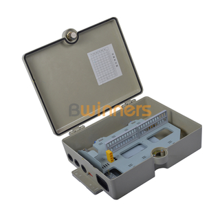 48 Cores FTTH Outdoor Wall Mount SMC Fiber Optic Termination Box