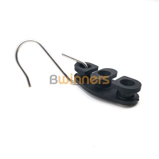 BWINNERS FACH-BW-13 Stainless Steel Ftth Fiber Optic Cable Drop Wire Tension Cable Clamp with Nylon UV Resistance