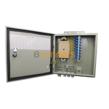 SJ-ODB-M01 Wall Mounted Fiber Optical Distribution Box 24 Cores Indoor/ Outdoor Weatherproof Fiber Enclosures